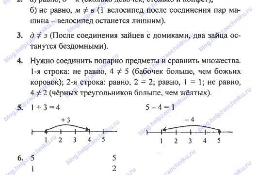 ГДЗ (решебник) математика Л. Г. Петерсон 1 класс 1 часть урок 28