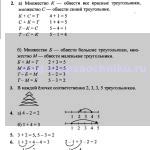 ГДЗ (решебник) математика Л. Г. Петерсон 1 класс 1 часть урок 29