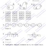 ГДЗ (решебник) математика  Л. Г. Петерсон 1 класс 1 часть урок 36