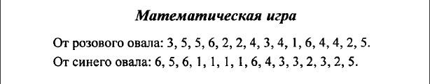 ГДЗ (решебник) математика Л. Г. Петерсон 1 класс 1 часть математическая игра