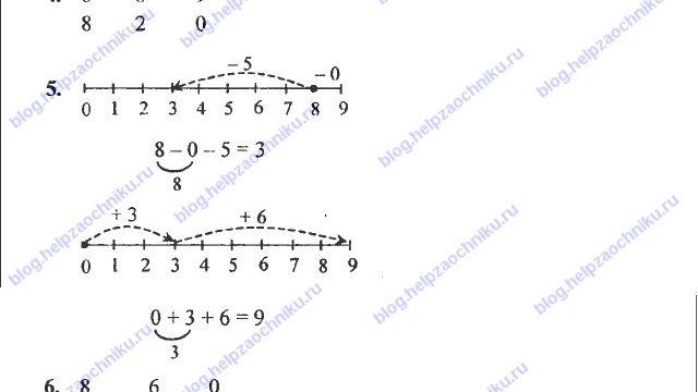 ГДЗ (решебник) математика Л. Г. Петерсон 1 класс 2 часть урок 16