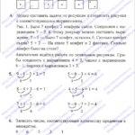 ГДЗ (решебник) математика  Л. Г. Петерсон 1 класс 2 часть урок 17