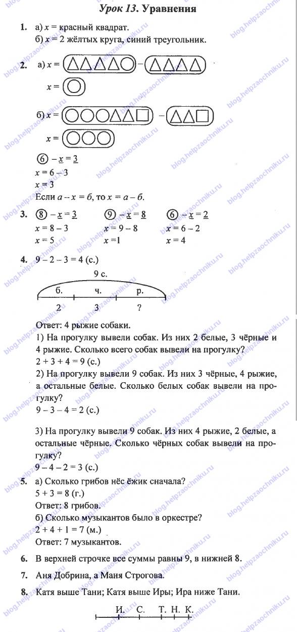 гдз математике 4 класс петерсон 1 часть ответы