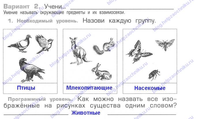 ГДЗ Школа 2100 по окружающему миру 2 класс Вахрушев А.А. ФГОС часть 1, 2