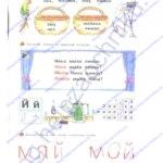 Гдз (решебник) ответы Я читаю. Тетрадь по чтению к «Азбуке». 1 класс 1 часть Нечаева Н. В., Белорусец К. С. стр.23