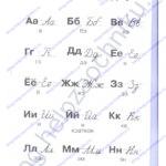 """Гдз (решебник) Нечаева Н. В., Белорусец К. С.: Я читаю. Тетрадь по чтению к """"Азбуке"""". 1 часть 1 класс ответы стр. 32"""