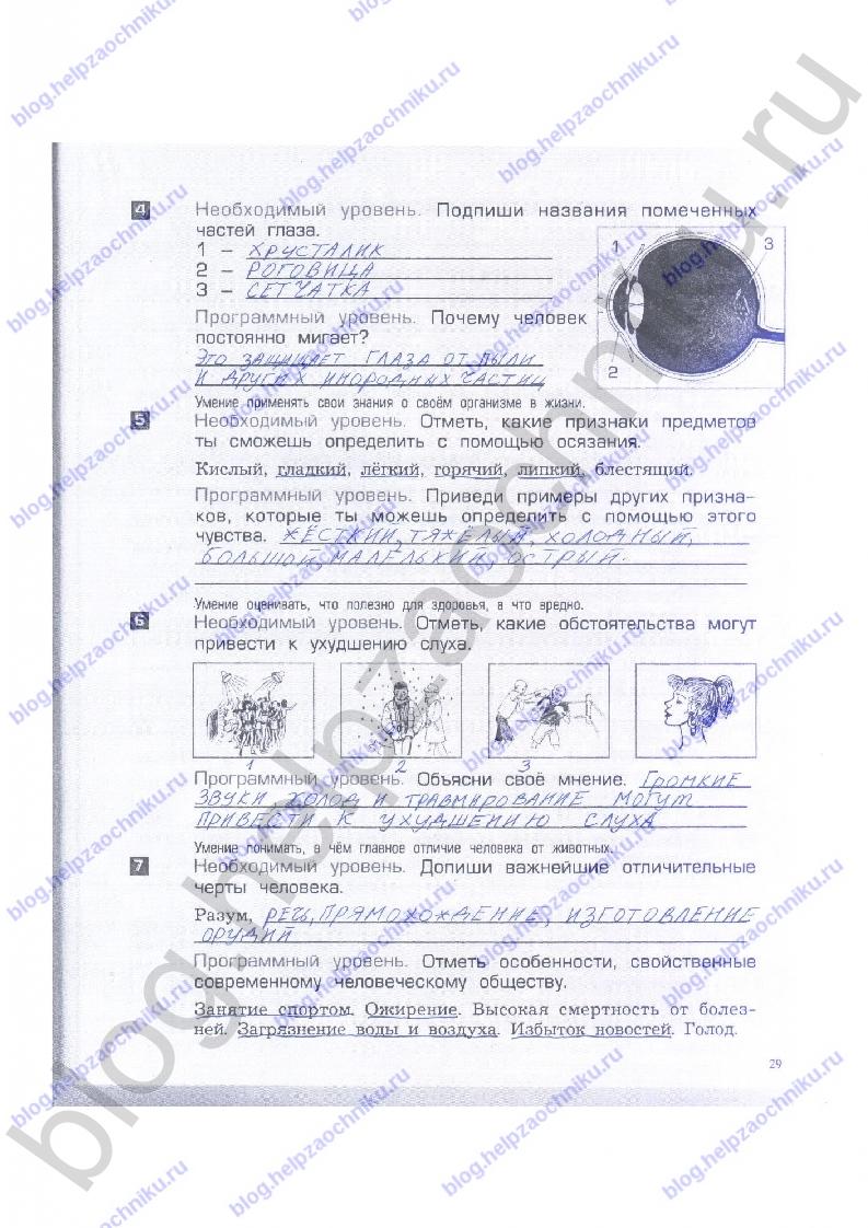 Вахрушев окружающий мир итоговый тест за 1 полугодие 4 класс