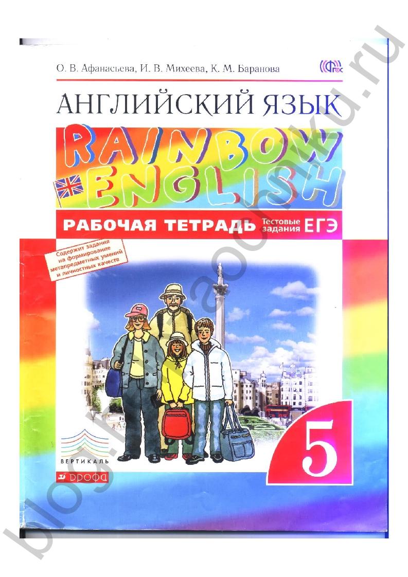 Решебник для тетради павличенко 7 класс английский язык