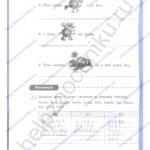 Решебник, ГДЗ по английскому языку 3 класс Кауфман рабочая тетрадь 2 часть стр.10