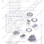 Решебник, ГДЗ по английскому языку 3 класс Кауфман рабочая тетрадь 2 часть стр.23