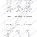 Решебник, ГДЗ по английскому языку 3 класс Кауфман рабочая тетрадь 2 часть стр.55