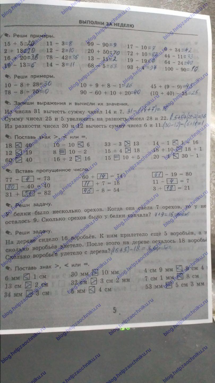 Гдз для 6 классов по математике кузнецова